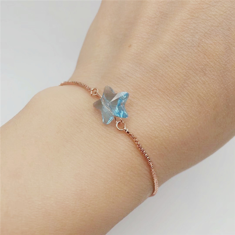 ms betti heart butterfly star clover lucky bracelets for best friends wish bracelet for girls 06