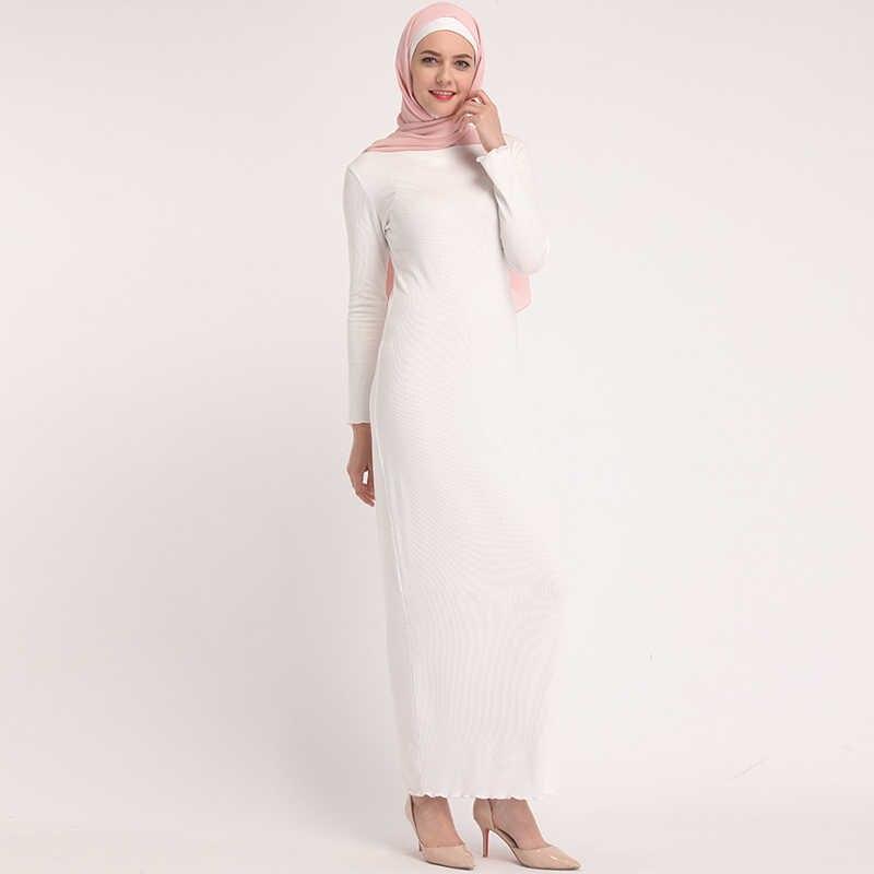 2019 Vestidos Abaya Dubai Kaftan Hijab Muslim Dress Women