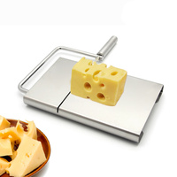 High quality stainless steel cheese slicer cutter butter for making dessert cake cutting machine Kitchen cooking tools.