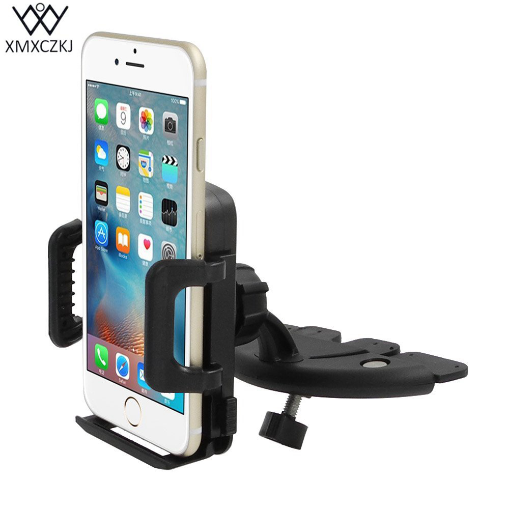 Car Mount Holder CD Slot Car Phone Mount Universal mobiltelefon holder Car Cradle Mount til iPhone 6 6s 6 plus mobiltelefon holder