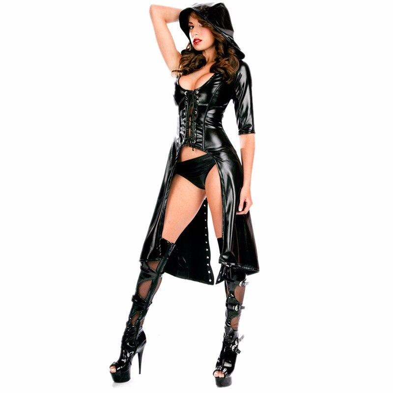 Lady latex lingerie