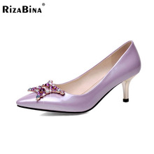 women thin high heel shoes lady spring sweet spring sexy fashion pumps heeled footwear heels shoes size 34-42 P16160