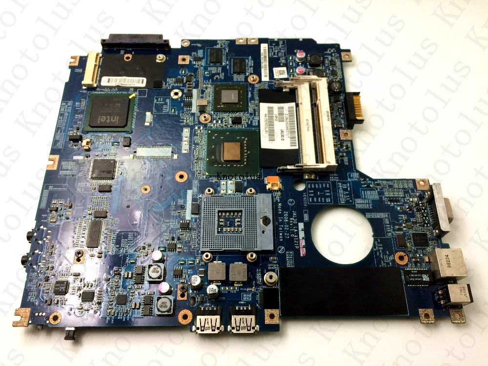 JAL30 LA-4121P for Dell Vostro 1510 laptop motherboard PM965 DDR2 0J603H Free Shipping 100% test ok la 5972p for lenovo ideapad g555 laptop motherboard ddr2 free shipping 100% test ok