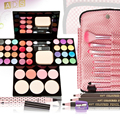2016 New Fashion Makeup Set Brushes Eyeliner Eyeshadow Blush Palette Powder Kit Sets Free Shipping #BSEL