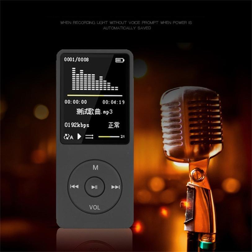 NewPlayback MP3 Sans Perte de Son Lecteur de Musique FM Enregistreur TF Carte walkman mp3 player mini mp3 module drop shipping