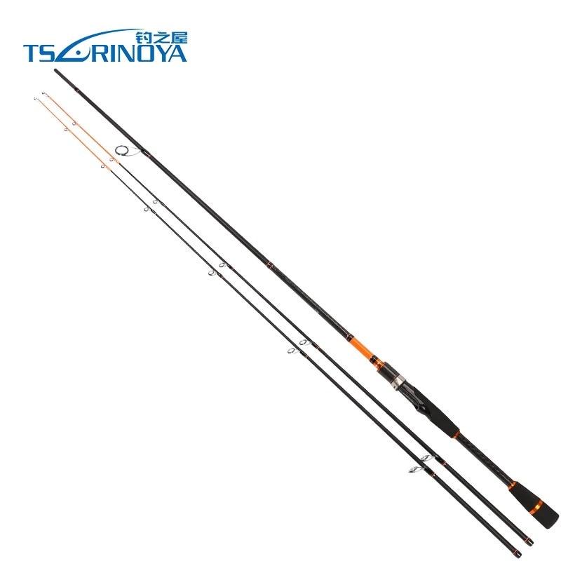 Trulinoya JOIE ENSEMBLE 2.1 m/2.4 m 2 Conseils (M/ML) 2 Sec En Fiber De Carbone Spinning Canne À Pêche Peche Carpe De Pêche Pôle Vara De Pescar