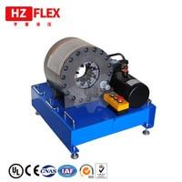 2019 HZFLEX HZ-24 máquina de friso da mangueira hidráulica