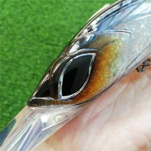 Image 3 - NOEBY 1PC 18cm 90g floating 5 6.5m minnow hard lure big fishing lure Deep Sea Trolling Fishing bait big minnow wobbler
