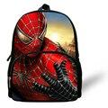12-inch 2014 Kids Bag Boys Spider Man Backpack Kindergarten Book Bag Spider Man Bag Casual Children School Bags Mochila Infantil