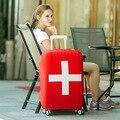 Италия / швейцария / канада флаг чехлы для тележка чемодан эластичный багажа защитная крышка путешествия чехол пылезащитной