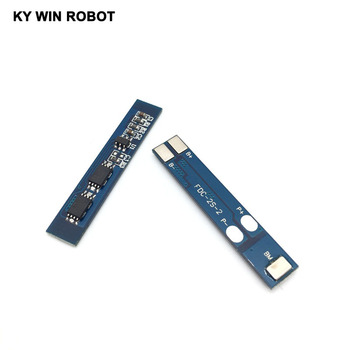 2 pcs/lot 2S 3A Li-ion Lithium Battery 7.4v 8.4V 18650 Charger Protection Board bms pcm for li-ion lipo battery cell pack