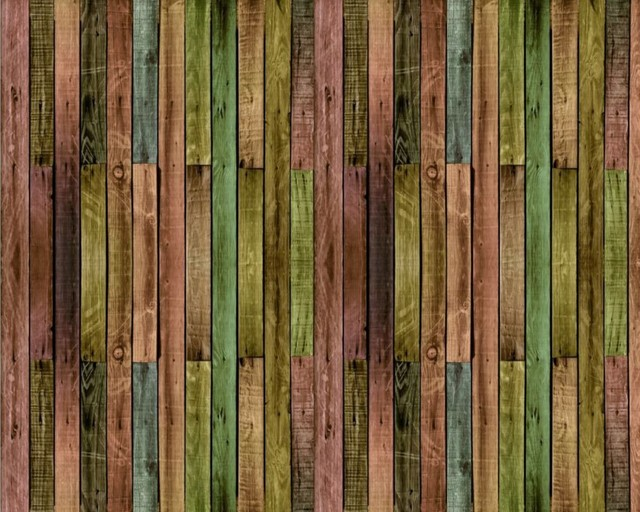 Free Shipping Vintage Wood Panel Puzzle Decoration Mural Colorful Parlor Bedroom Wallpaper 3D Custom Restaurant