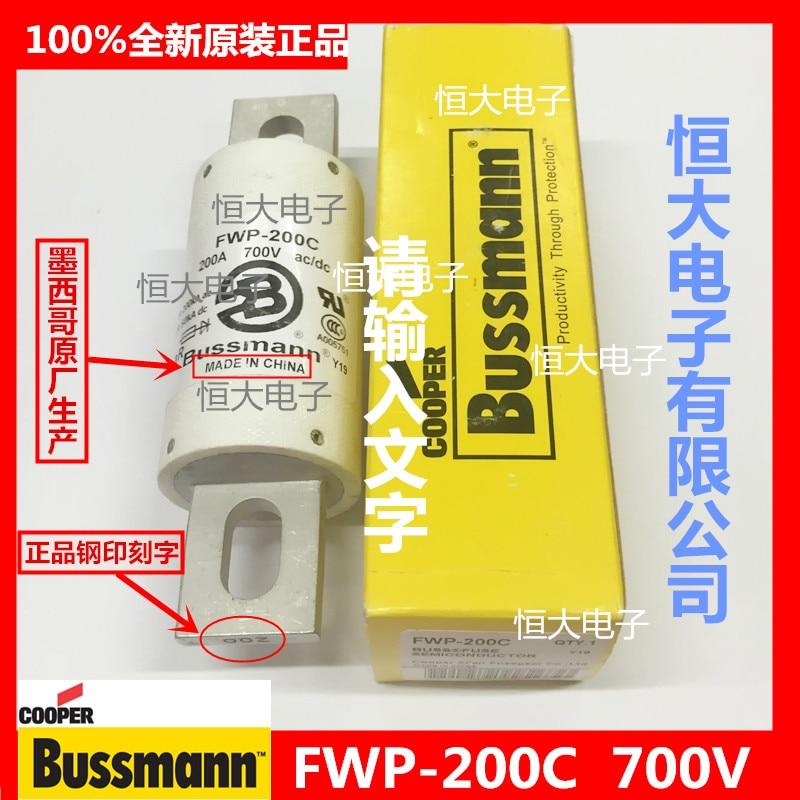 FWP-125C original BUSSMANN Basman fast fuse fuse 700V125A
