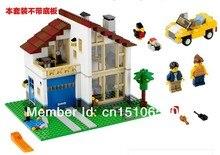 without original packaging L31012 756pcs DIY Plastic building block sets enlighten blocks eductional toys Family House