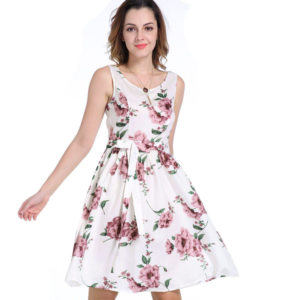 günstige kleid kurz plissierte kleider mint floral kurzarm kleid elegante  vintage swing kleider urlaub verschleiß blumen gedruckt