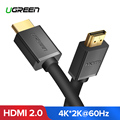 Ugreen Cable HDMI 4 K HDMI 2,0 Cable para IPTV LCD HDMI xbox 360 PS3 4 pro Set-top Box nintend interruptor proyector Cable HDMI Cable 5 M 10 M