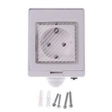 Беспроводной Smart WI-FI розетки, выключатель ip55 Водонепроницаемый дом дистанционного таймер открытый умная розетка D21 дропшиппинг