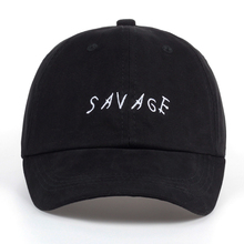 Newest Pure Cotton Baseball Cap Men SAVAGE Dad Hat Trucker