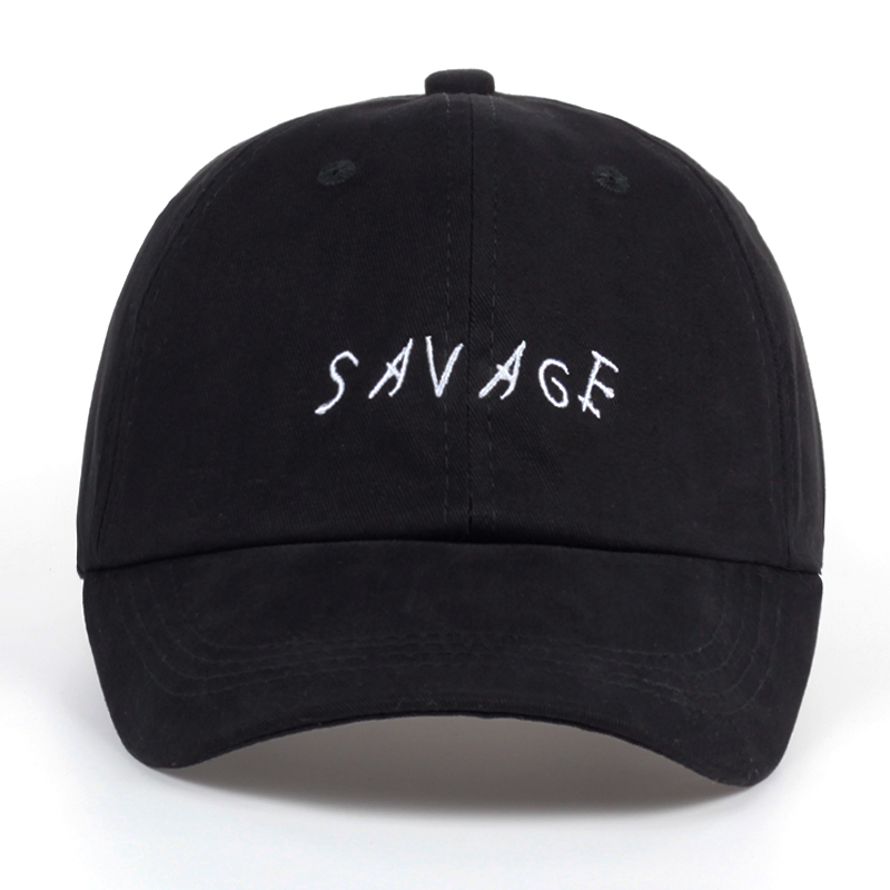 Newest Pure Cotton   Baseball     Cap   Men SAVAGE Dad Hat Trucker   Cap   Women Fitted Hat Unisex Summer Bone Savage Tilted Font Gorras