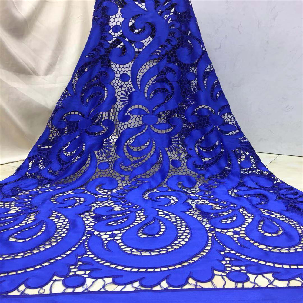 Tollola Fashion Nigerian Wedding Lace Materials Cord Lace Fabric High Quality 2019 African Lace Fabric Royal
