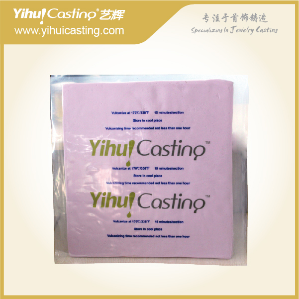 Yihui Casting Pink color silicone rubber for making rubber mold, making jewelry ...
