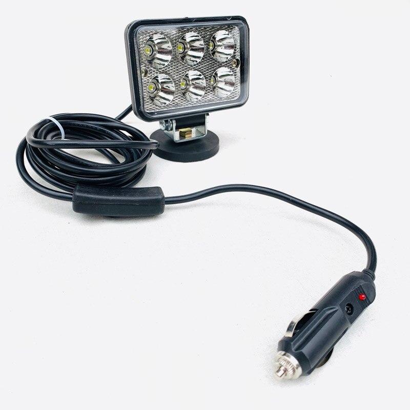 Lampe Spot Torche de Arbeit magnetisch Beleuchtung Hat LED Magnet