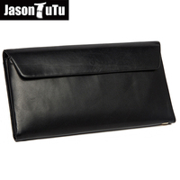 JASON TUTU Business Men Genuine Leather Clutch Bag Designer High Quality Men's Handbag Large Capacity Male Solid Wallet HN136