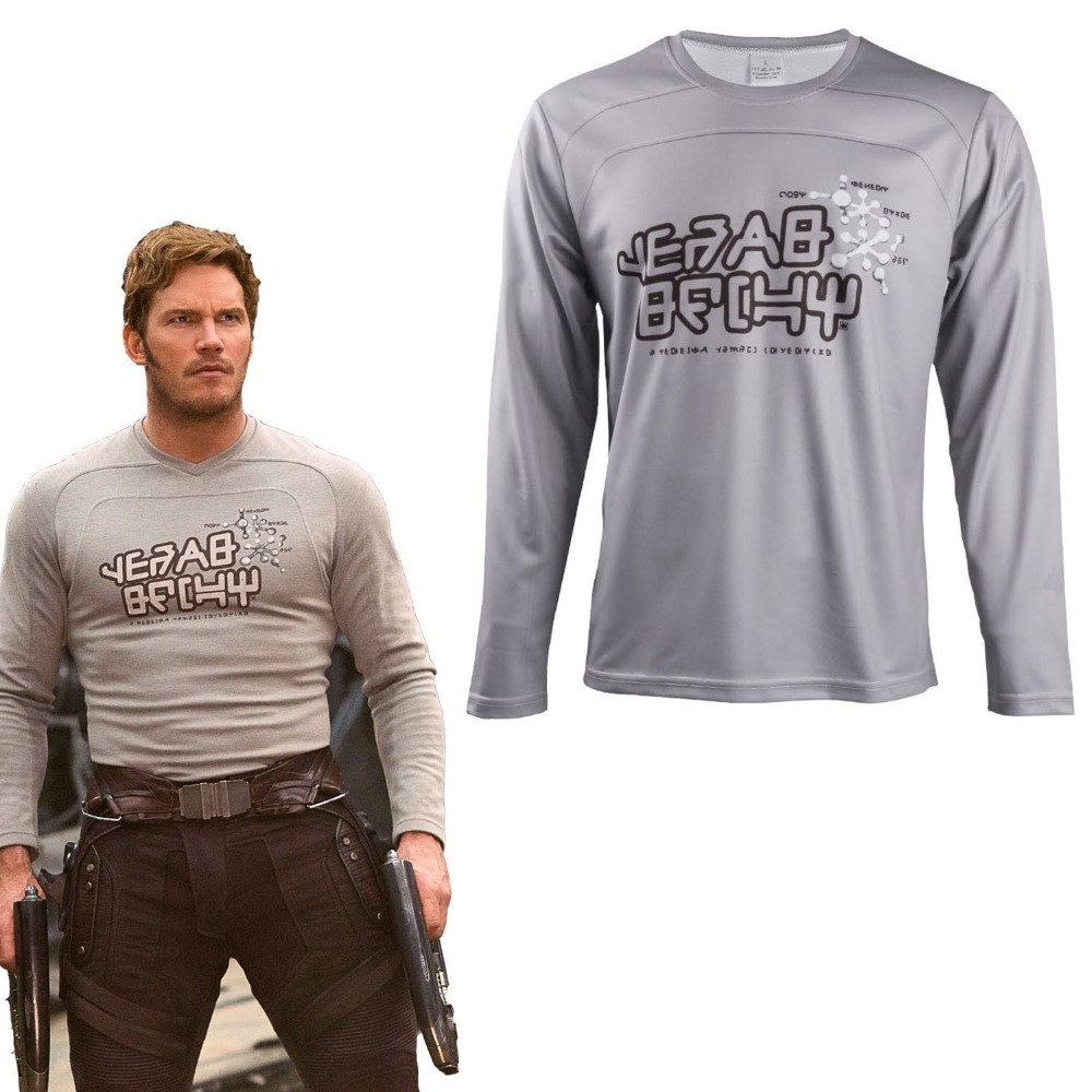 Star t-shirts Avengers Infinity War Guardians of the Galaxy costume Superhero Peter Jason Quill t-shirts