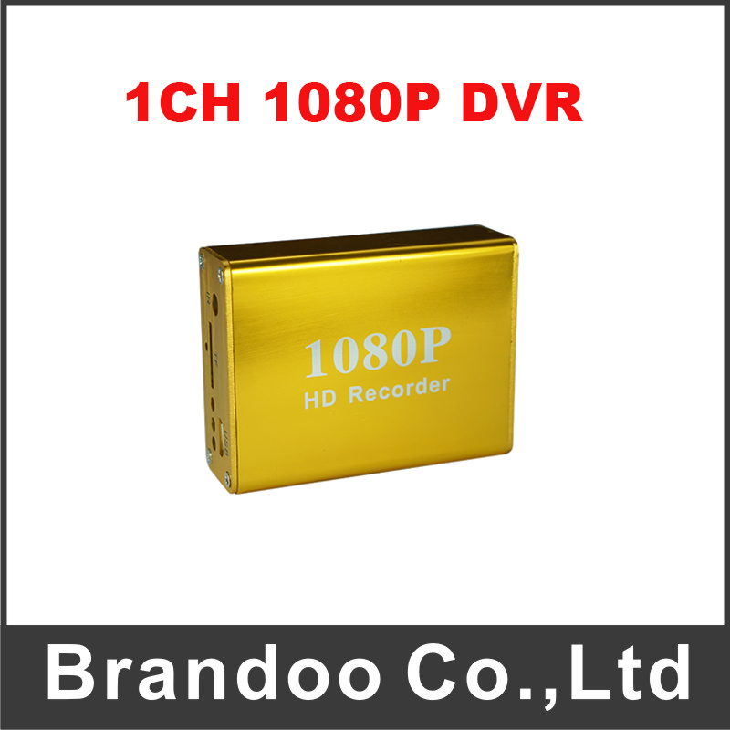 New Arrival 1 Channel 1080P SD DVR Support 128GB For Home Office