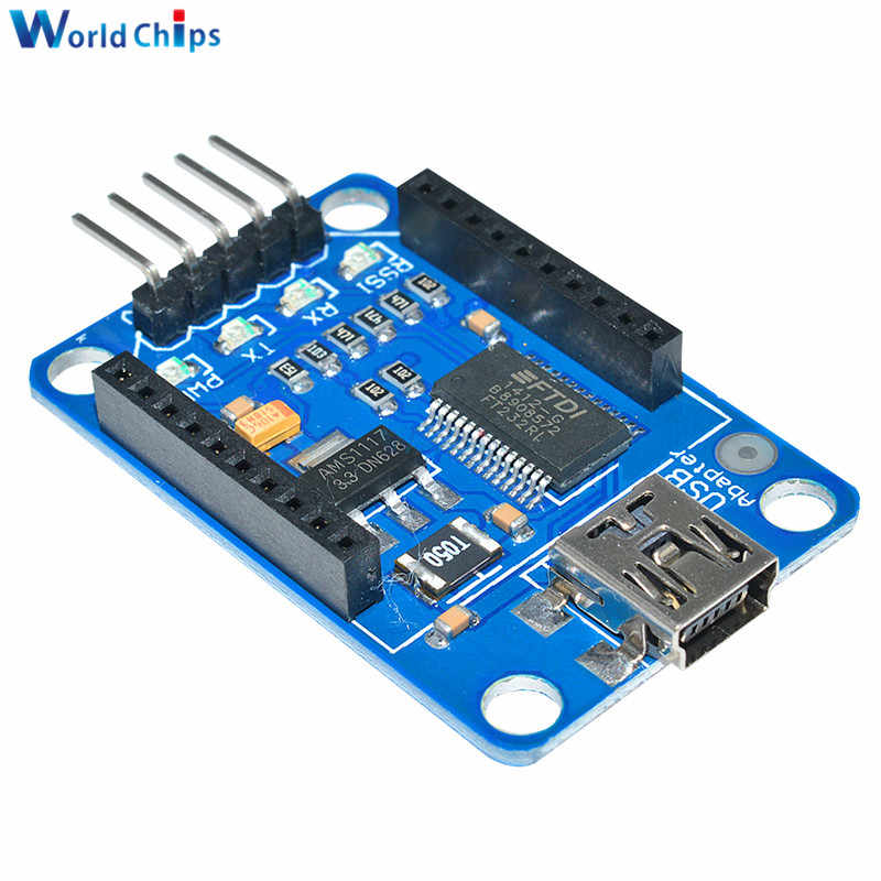 XBee Explorer USB Mini Adapter Module Board Base Shield Multifunction+CablRCFS