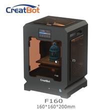 F160 creatbot 3D-принтеры один экструдер 160*160*200 мм 1,75 мм ABS печать дешевые 3D-принтеры Ultem Peek принтера