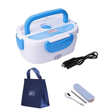 лучшая цена 12V Electric Lunch Box Heating Warmer Food Container Outdoor Travel Office Portable Bag Tableware Set Car Bento Box Plastic