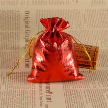 Drawstring Wedding Jewelry Bags