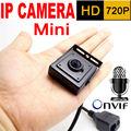 Микро 3.7 мм объектив мини ip-камера 720 P главная система безопасности видеонаблюдения малых hd Встроенный Микрофон onvif видео p2p камеры