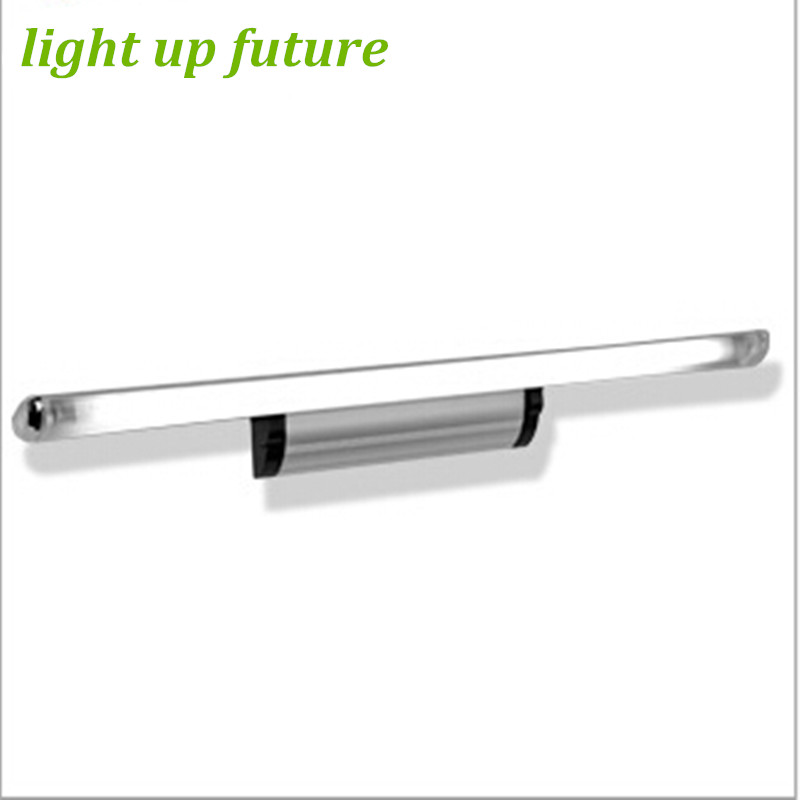 Modern 12w/74cm IP65 Aluminum Acryl Led Mirror Light for Bathroom Flexible Waterproof Mirror Lamps 2063-12 modern waterproof aluminum acryl led mirror front light for bathroom bedroom living room 40cm 12w ac 80 265v mirror light 2129