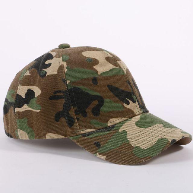 de88421ce1e New Men Women Camouflage Half Mesh Army Hat Baseball Cap Desert Jungle Snap Camo  Cap Hats