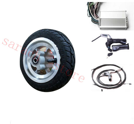 8 inch disc brake motor wheel electric scooter , electric scooter kit , electric scooter front wheel big chinese king scooter and electric motorcycle disc pump front disc brakes pump right pump scooter parts dgw sb r