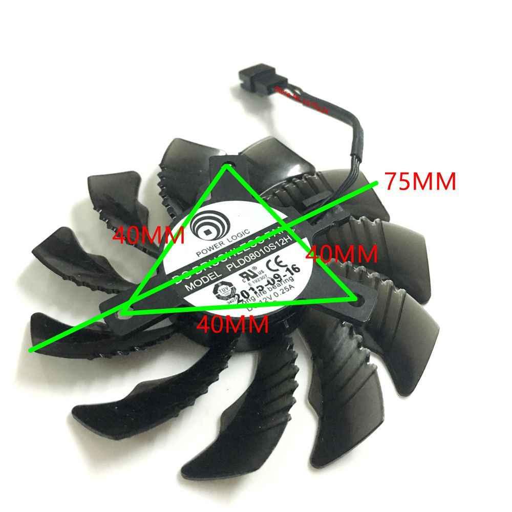 3 قطعة/المجموعة PLD08010S12HH gtx1080/1080TI 1070 Ti GPU برودة ل جيجابايت GTX 1080 1070 Ti G1 الألعاب 1060 G1 روك فيديو بطاقة تبريد
