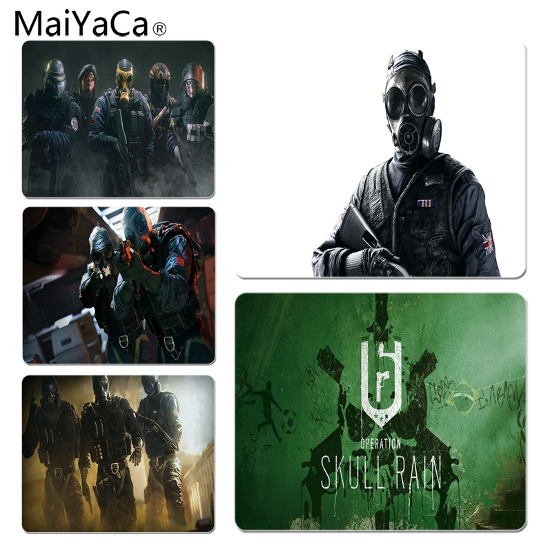 MaiYaCa Tom Clancys Rainbow Six Laptop Computer Mousepad Size for 25X29cm Gaming Mousepads