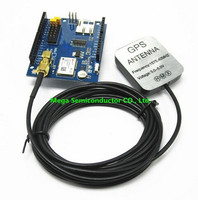 Free Shipping GPS Shield GPS Record Expansion Board GPS Module With SD Slot Card With