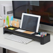 NEW Shelf Desktop Storage Rack Office Table Desk Organizer Holder Keyboard Drawer