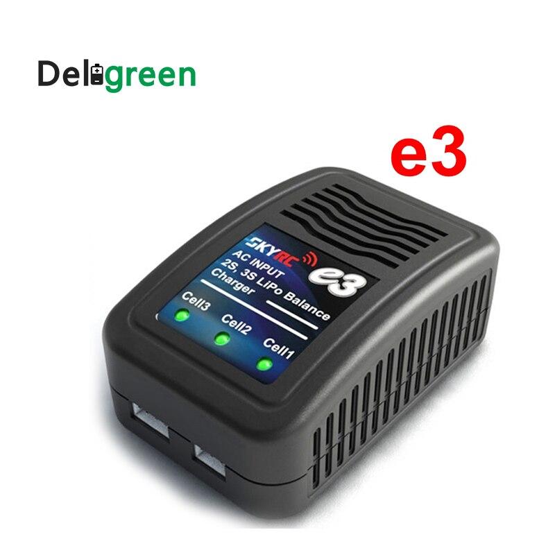 SKYRC e3 2 S 3 s LiPo AKKU batería Balance cargador 110 V AC-240 V SK-100081