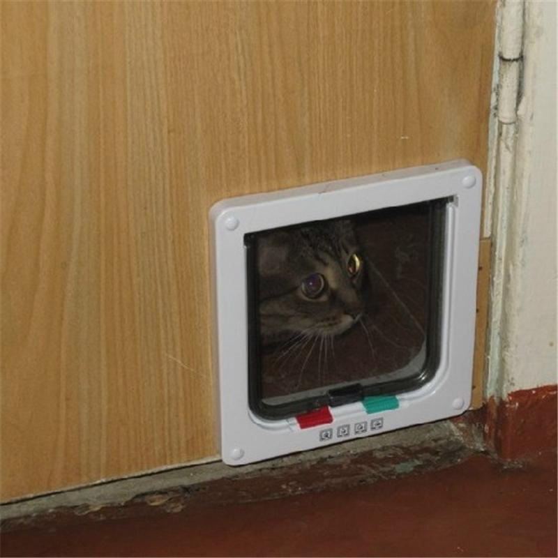 cat gates door 3 Size 4 Way Cat Gates Door Lockable Safe Flap Door HTB1jO2qKVXXXXaPXFXXq6xXFXXX6