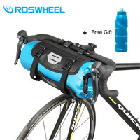 ROSWHEEL 2018 7L 100% Full Waterproof MTB Cycling Bicycle Bike Handlebar Bag Bycicle Accessories IN STOCK