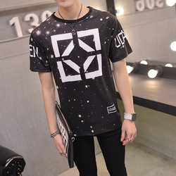 Mens graphic tees summer 2016 new arrival men s cotton round neck shirts mens punk loose.jpg 250x250