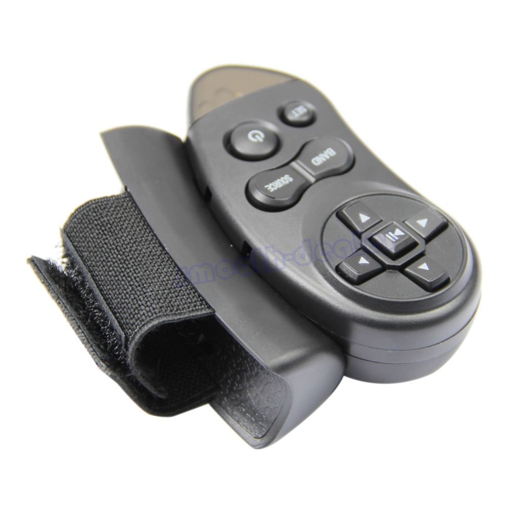 Hot 1pcs New Universal Car Steering Wheel Remote Control Learning For Car CD DVD VCD