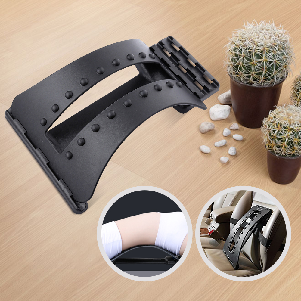 Back Magic Stretcher Fitness Equipment Stretch Stretcher Lumbar Support Spine Pain Relief Chiropractic Tool