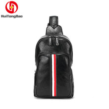 Mens Bag Casual Chest Sports Leather Shoulder Messenger Personalized Crossbody Bags High Quality