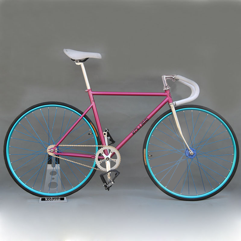 700C Fixie Bike Frame DIY Retro Marco De Acero Bicicleta Artes Fijos ...