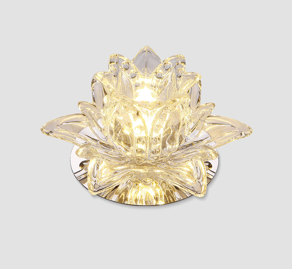 HTB1jO4CldcnBKNjSZR0q6AFqFXa6 Crystal Wall Lights | Crystal Ceiling Lights | Colourful Led Lotus Crystal Ceiling Chandelier Light Spot Light for Corridors Balconies Hallways Creative Plafonnier Luminaire 001